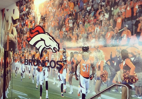 Broncos Wall Graphic + Signage