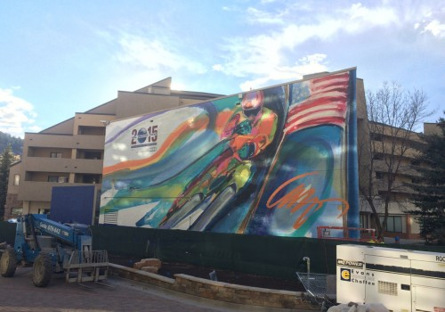 2015 World Ski Championship Wall Mural