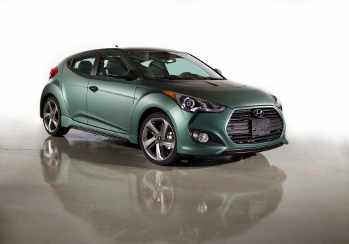 Veloster Turbo Vinyl Wrap