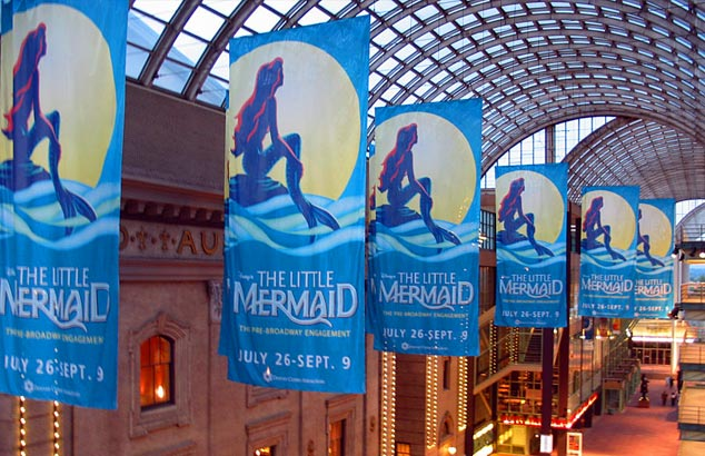 Denver Performing Arts Center Banners