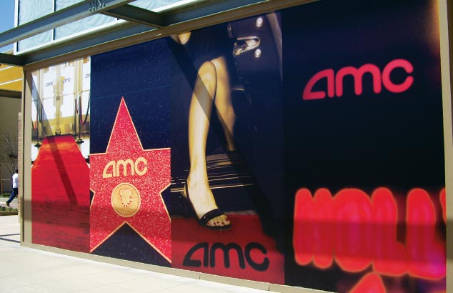 AMC Promotional Wall Decal