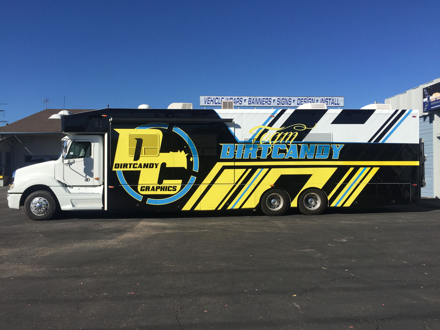 Team Dirt Candy Racing Fineline Graphics